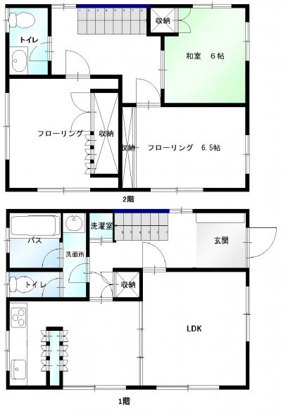新藤邸1・2階